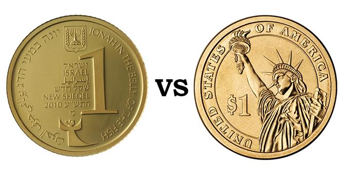 shekel vs dollar